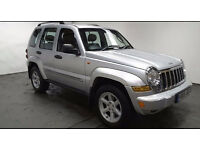 2005(05)JEEP CHEROKEE LIMITED 2.8 CRD MET SILVER,NEW MOT,BIG SPEC,CLEAN CAR,GREAT VALUE