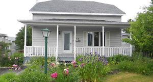 Maison à louer à la semaine Rimouski