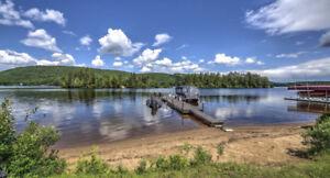 Chalet à vendre, bord de l'eau à St-Donat au Lac Archambault