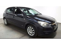 2005(55)VAUXHALL ASTRA 1.6 DESIGN BLACK,CLEAN CAR,GREAT VALUE