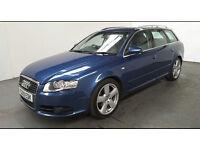 2009(09)AUDI A4 AVANT 2.0TDi MULTITRONIC AUTO S LINE MET BLUE,7 SPEED AUTO,BIG SPEC,LOVELY CAR!