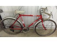 Retro Raleigh Racer 5 speed in Red