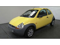 2008(08)FORD KA 1.3 STUDIO YELLOW,VERY LOW MILES,NEW MOT,CLEAN CAR