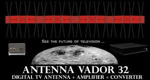 KIT ANTENNE NUMÉRIQUE VADOR 32 - ANTENNA DIGITAL TV VADOR