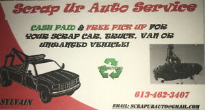 ### CASH ### FOR YOUR SCRAP/JUNK CAR, TRUCK OR VAN