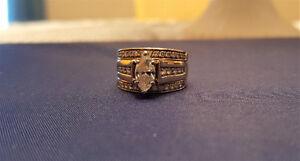 Large Diamond Lady's Ring