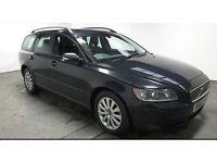 2005(55)VOLVO V50 2.0 DIESEL S ESTATE MET BLACK,6 SPEED,CLEAN CAR,GREAT VALUE