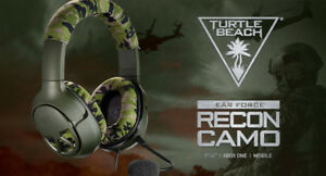 Écouteur Turtle Beach Headset Recon Camo Ps4 / Xbox one / Mobile