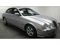 2001 JAGUAR S TYPE 3.0 V6 SE AUTOMATIC MET SILVER,LOW MILES,LONG MOT,PRIVATE PLATE,LOVELY CAR