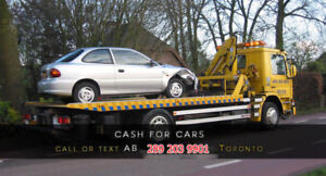TOP CASH FOR SCRAP CARS call 647 491 1601