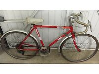 Retro Raleigh 5 speed Boys Road Bike