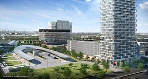 Transit City Condos Vaughan Tallest  next to  TTC Subway VMC
