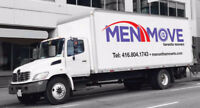 Men On The Move (Professional Movers) 416-804-1743