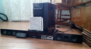 Samsung 2.1 Channel Soundbar Speaker w/ Wireless Subwoofer