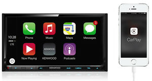 NEW!! 2016 Kenwood Double DIN - Apple CarPlay + Android Apps