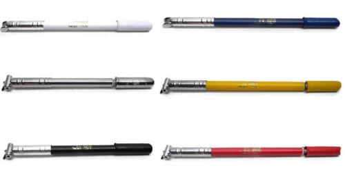 NOS Vintage SILCA IMPERO Frame Pump White/Silver/Red/Yellow/Blue/Black