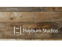 Studio Space in Creative Environment