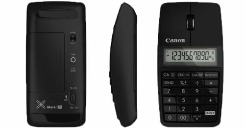 Canon Mark I M Bluetooth 3-in-1 Mouse Calculator Keypad Black New in box