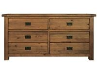 Pre-loved Oak Chest of Drawers (Toulouse - Benson for Beds) REDUCED PRICE