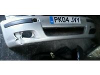01-06 Genuine Toyota Yaris parts Front bumpe,headlight,rear lights,stereo + surround,console,stereo