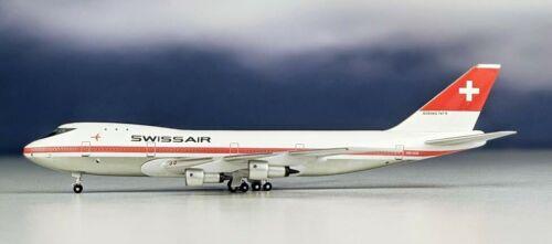 Aeroclassics BB419773 Swissair Boeing 747-257B HB-IGB Diecast 1/400 Jet Model