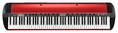 KORG STAGE VINTAGE PIANO  SV1-88-MR Metalic Red Electric Piano