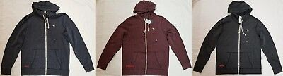 Icon Full Zip Hoody - NWT ABERCROMBIE & FITCH FULL-ZIP ICON HOODIES MED, LARGE, XL, RETAIL $68