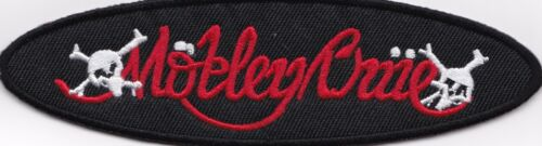 MOTLEY CRUE - OVAL - IRON ON or SEW ON PATCH