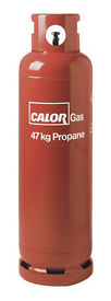 Propane gas bottle 47KG - With some gas still in it