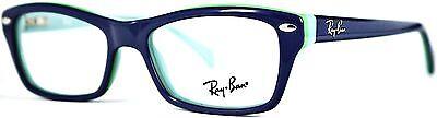 Ray Ban Kinderbrille Brillenfassung RB1550 3657 46mm blau Vollrand 166 70