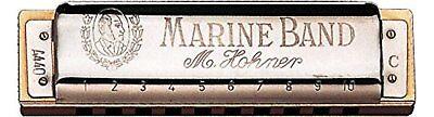 Hohner / Blues Mundharmonika Marine Band Classic 1896/20cl Tasten: C F/S W/ ()