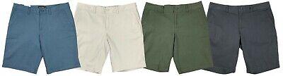 Eddie Bauer Women Slightly Curvy Mid Rise Bermuda Shorts Green/Blue/Grey/Tan -