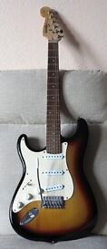 Left-Handed Fender Squier Stratocaster Guitar
