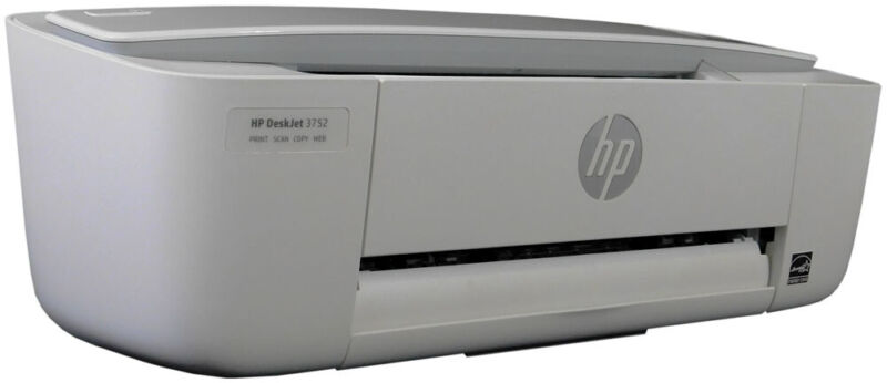 Refurbished HP DeskJet 3752 Wireless All-in-One Compact Printer