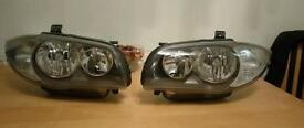 Bmw 1 series original front headlights with bulbs