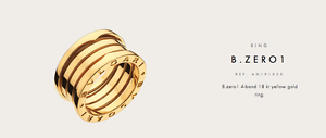 Bvlgari B-Zero Ring 18kt Yellow Gold Bondi Junction Eastern Suburbs Preview