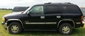 2000 GMC Yukon SLT SUV, 4x4 Leather Sunroof 4dr $3999