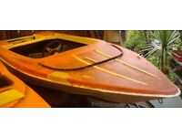 Speedboat free to collector