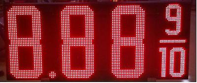 Led Gas Pricer-30 Red Electronic Sign Kit