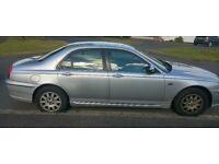 Rover 75 diesel. silver connoisseur auto..