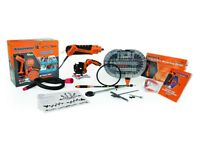 Brand New Twist-A-Saw Deluxe Kit THE RENOVATOR Hammer Drill Jigsaw Router Tool