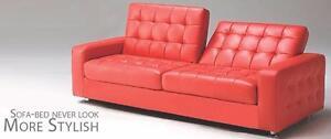 Sofa-lit en simili-cuir,PRIX DE BOXING DAY!!!