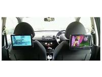 Logik 7 inches portable car DVD player , have got difference inches