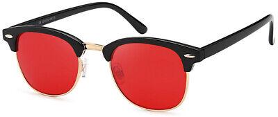 Classic Club Way Retro Sonnenbrille Herren Master Rot + Schutztasche B1264