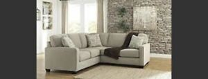 Grey Sectional *PRICE REDUCED*