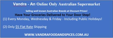 Online Only Australian Grocery