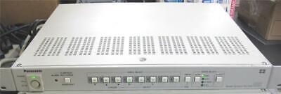 Panasonic Splitter (Panasonic WJ-MS488 Video)
