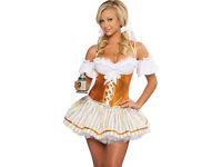 German Beer Girl, fancy dress costume