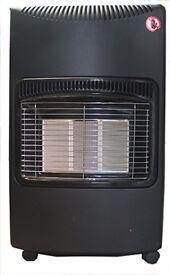 BARGAIN Calor Gas Heater. Model. WS-1082. C/w. TWO 15 Kg bottles, each more than 1/2 full