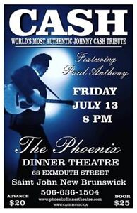 Johnny Cash Tribute Show featuring Paul Anthony